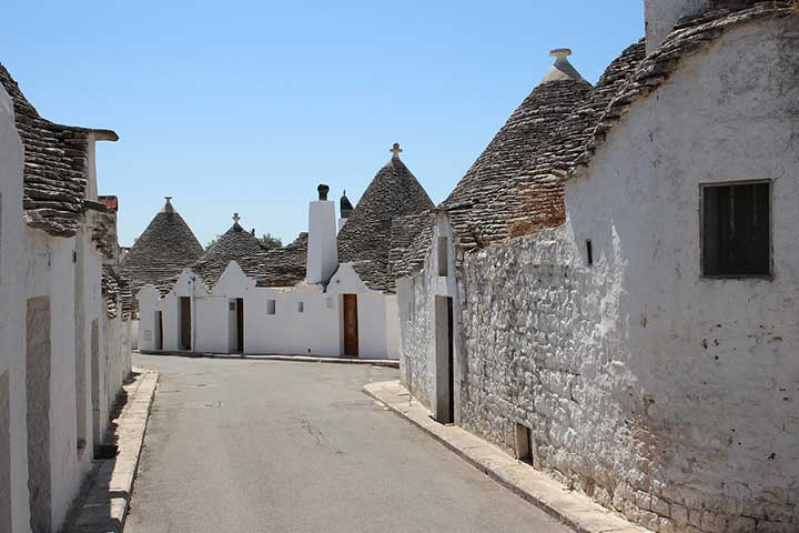 trulli alberobello - educational tour puglia 2019