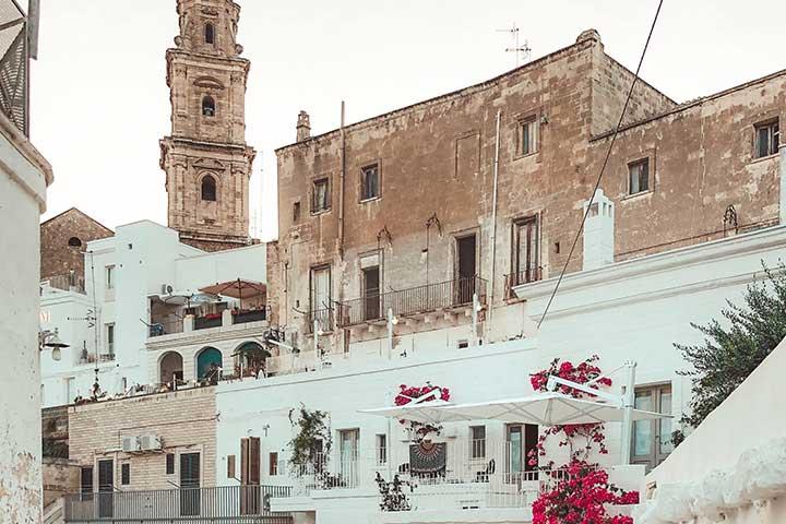 foto di edificio rivalutato mediante bando radici e ali della regione puglia
