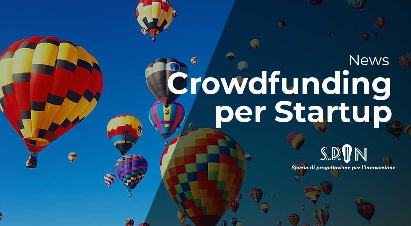 mongolfiere in cielo metafora per crowdfunding startup