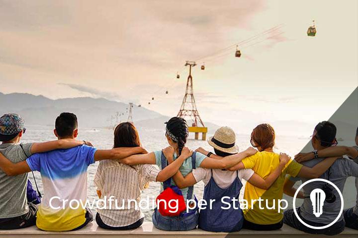 persone insieme metafora di crowdfunding